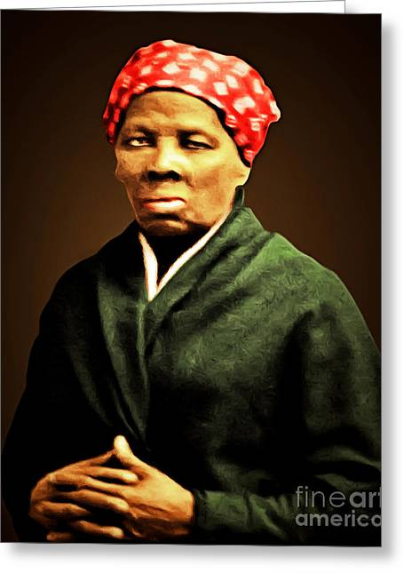 Harriet Tubman Underground Railroad 20160420 Greeting Card by Wingsdomain Art and Photography