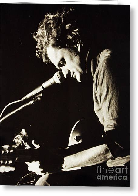 Harry Chapin Greeting Card by Kent Nickell