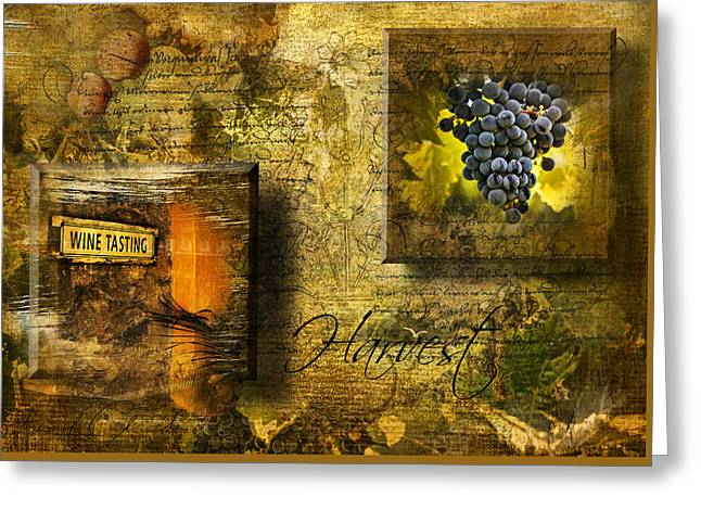 Phil Clark Greeting Cards - Harvest Greeting Card by Phil Clark