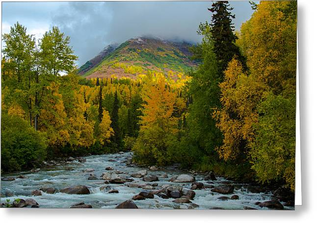 Hatchers Pass Alaska Greeting Card by Melissa Wyatt