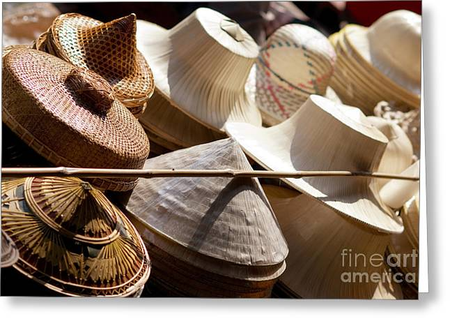 Buy Goods Greeting Cards - Hats for Sale Greeting Card by Ray Laskowitz - Printscapes