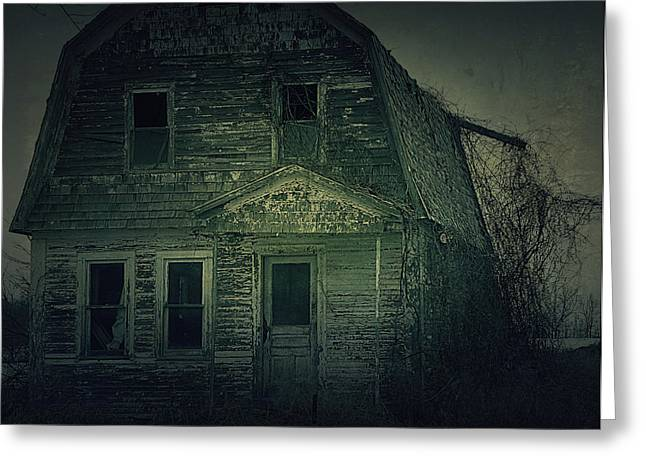 Hovind Greeting Cards - Haunting Greeting Card by Scott Hovind