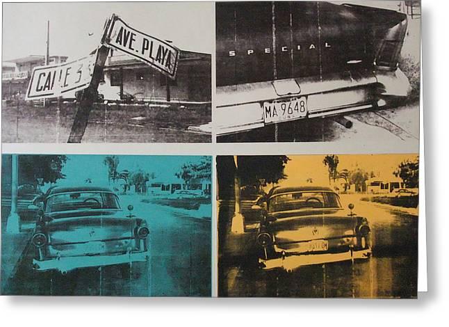 Cuba Greeting Cards - Havana Three Greeting Card by David Studwell