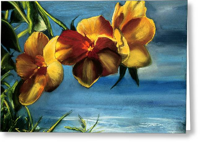 Atlantis Pastels Greeting Cards - Hawaii Greeting Card by Ione Citrin