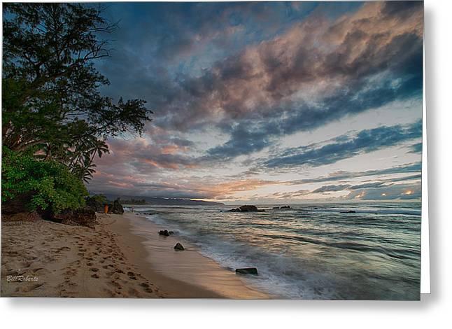 Hawaiian Sky Greeting Card by Bill Roberts
