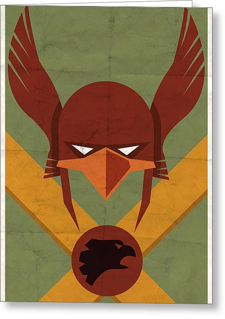 Dc Comics Greeting Cards - Hawkman Greeting Card by Michael Myers