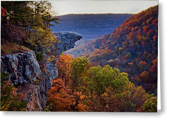 Boxley Valley Greeting Cards - Hawksbill Crag Greeting Card by Noel Pennington