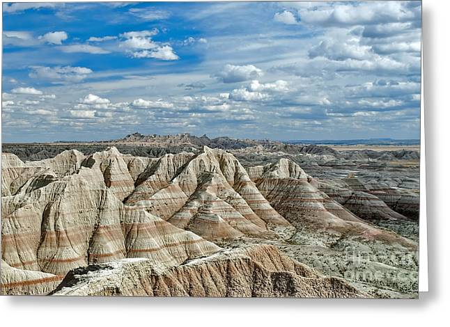 Geology Photographs Greeting Cards - Hay Butte  Greeting Card by Martina Parsley