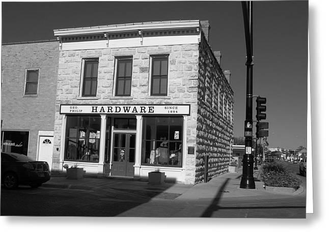 Hays, Kansas - Hardware Store 2 Greeting Card by Frank Romeo