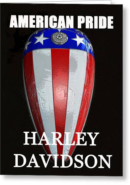 Captain America Greeting Cards - HD American Pride Greeting Card by David Lee Thompson