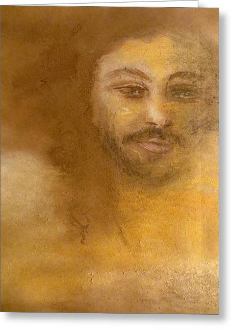 Faith Pastels Greeting Cards - He Knows Greeting Card by C Pichura