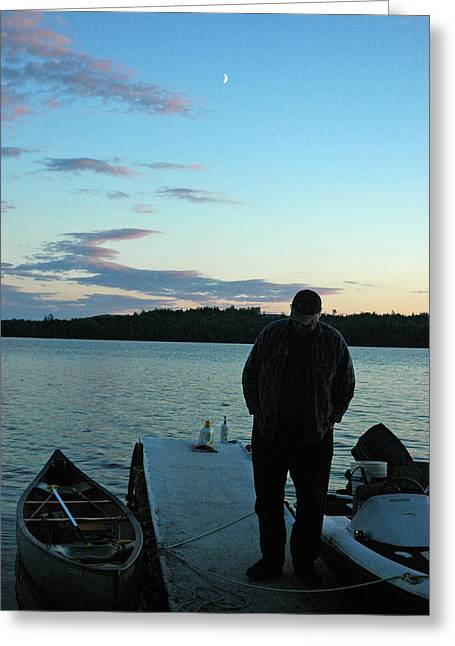 Down East Maine Greeting Cards - Heading Out Greeting Card by Robert Anschutz