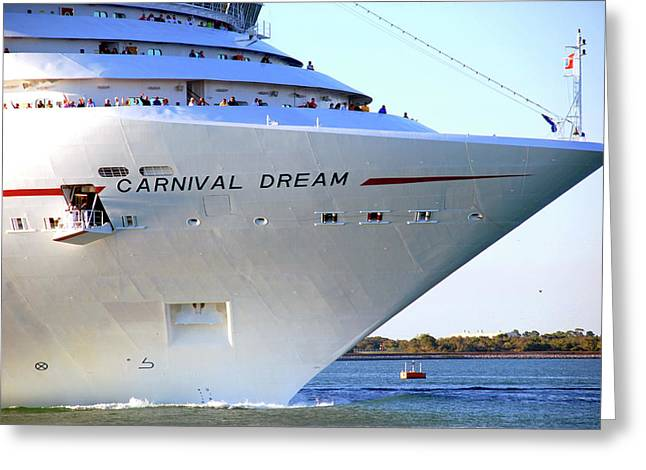 Carnival Dream Greeting Cards - Heading South Greeting Card by Susanne Van Hulst