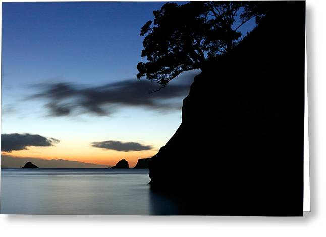 Ocean Shore Greeting Cards - Headland Greeting Card by Nicholas Blackwell