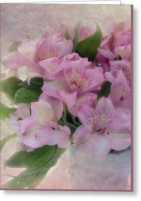 Peruvian Lily Greeting Cards - Heart and Soul Greeting Card by Kim Hojnacki