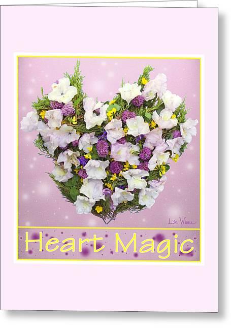 Heart Magic Greeting Card by Lise Winne