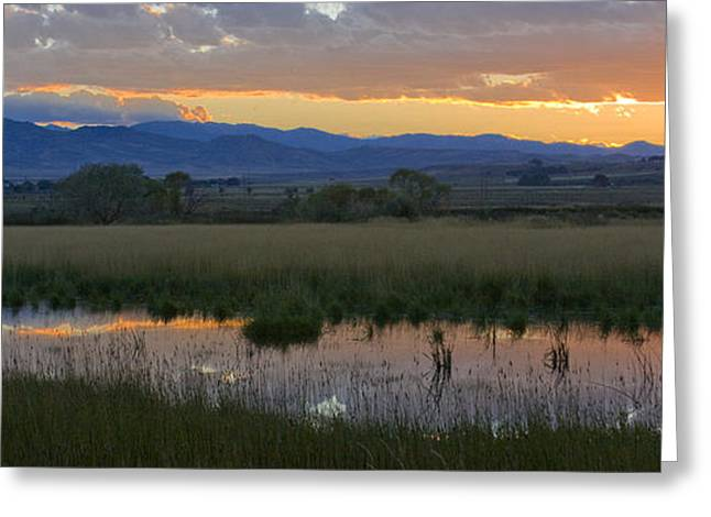 Heart Mountain Sunset Greeting Card by Idaho Scenic Images Linda Lantzy