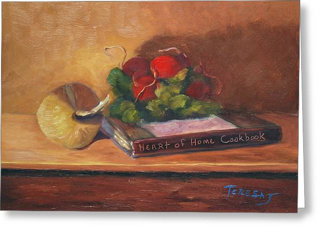 Heart Of Home Greeting Card by Teresa Lynn Johnson