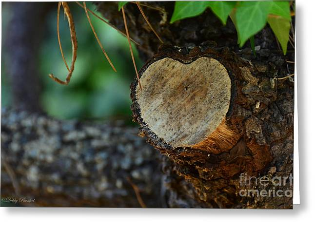 Francis Greeting Cards - Heart of the Limb Greeting Card by Debby Pueschel