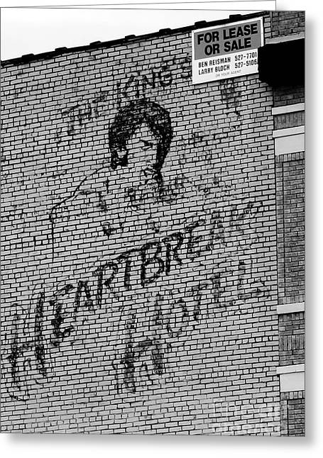 Heartbreak Hotel Greeting Card by Robert Wilder Jr