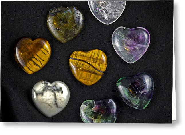 Geology Photographs Greeting Cards - Hearts of Stone Greeting Card by Robert Storost
