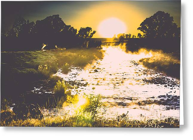 Photo Art Gallery Greeting Cards - Heat Greeting Card by George Fivaz
