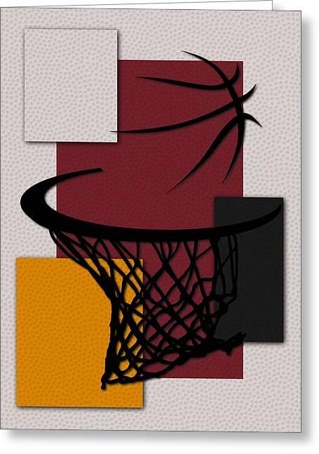 Miami Heat Photographs Greeting Cards - Heat Hoop Greeting Card by Joe Hamilton