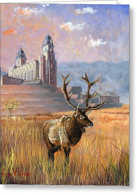 Fall Grass Greeting Cards - Heaven and Earth Greeting Card by Jeff Brimley