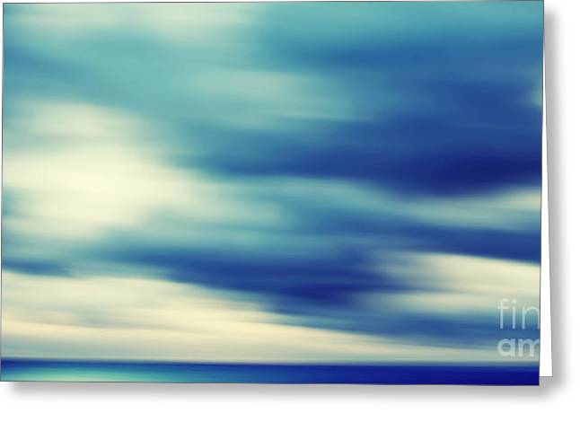 Heaven Impressions Greeting Card by Angela Doelling AD DESIGN Photo and PhotoArt