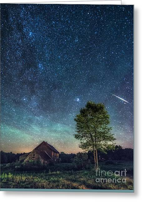 Star Barn Greeting Cards - Heaven sent Greeting Card by Scott Thorp
