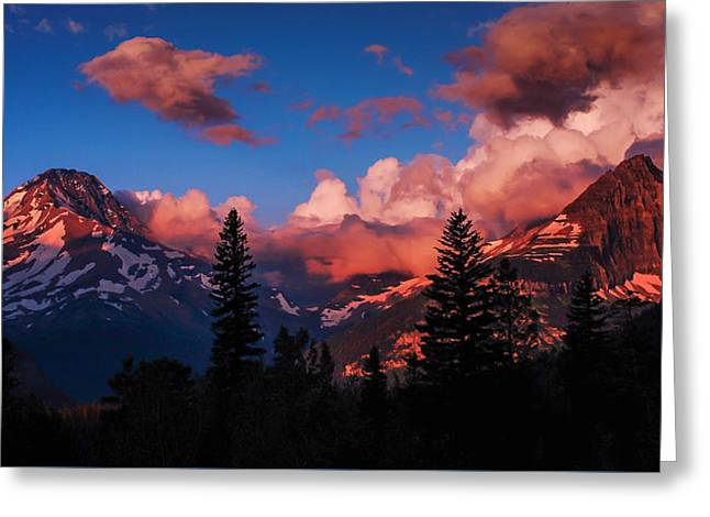 Usa Photographs Greeting Cards - Heavenly Greeting Card by Jeff Waddell