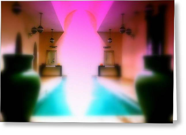 Funkpix Greeting Cards - Heavenly Marrakech Spa Greeting Card by Funkpix Photo Hunter