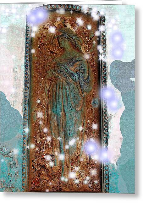 Intuitive Greeting Cards - Heavens Doorway Greeting Card by Patricia Motley