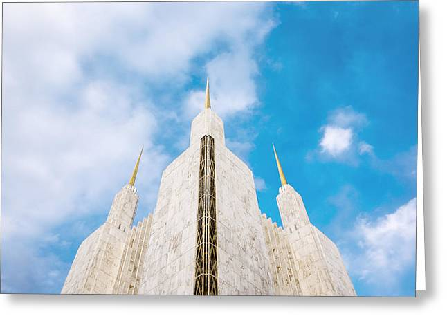 Church Greeting Cards - Heavenward Greeting Card by Greg Collins