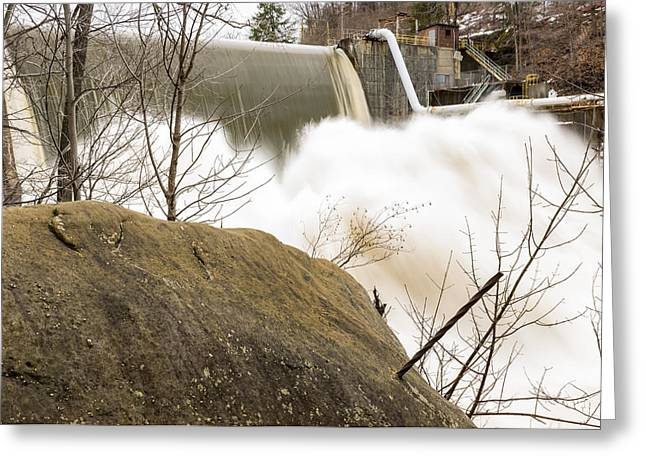 Edison Greeting Cards - Heavy Flow #1  Greeting Card by Tim  Fitzwater