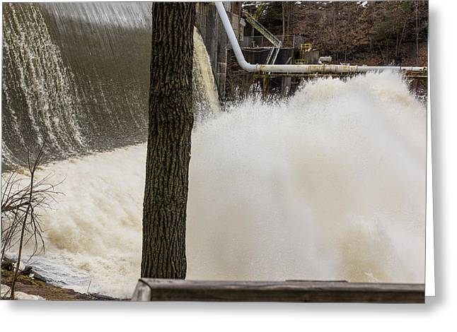 Edison Greeting Cards - Heavy Flow #2  Greeting Card by Tim  Fitzwater