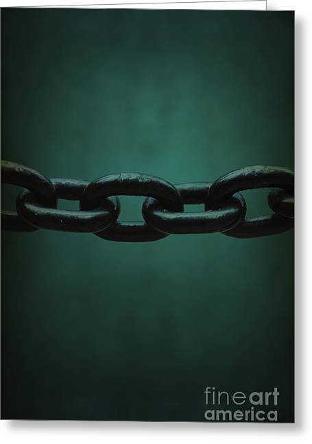 Chain-ring Greeting Cards - Heavy Greeting Card by Margie Hurwich