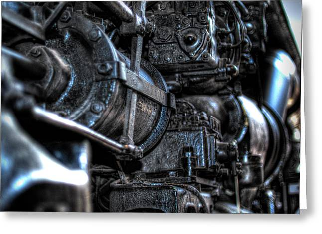 Heavy Piston Greeting Card by Scott  Wyatt