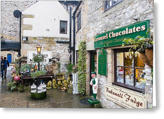 History Derbyshire Greeting Cards - Hebden Court Bakewell Derbyshire Greeting Card by Martin Berry
