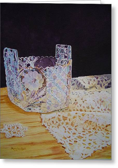 Heirlooms Greeting Card by Mary Lou Hall