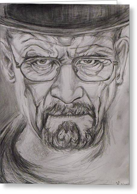 Heisenberg Greeting Card by Hannah Curran