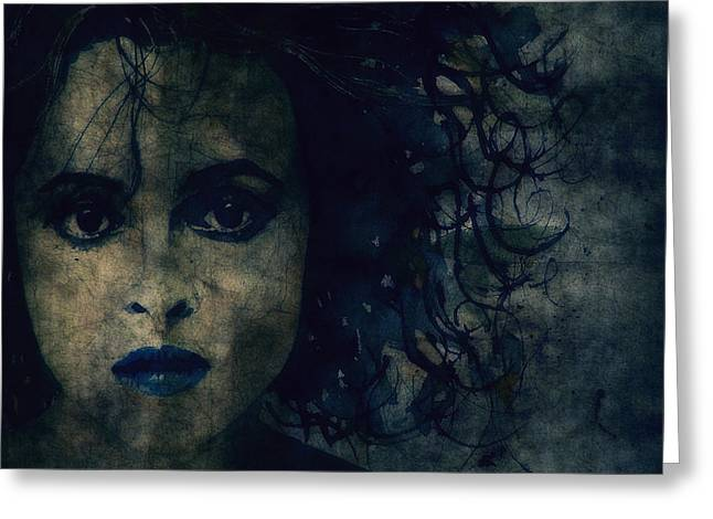 Lips Digital Art Greeting Cards - Helena Greeting Card by Paul Lovering