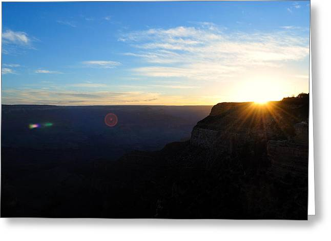 Williams Dam Greeting Cards - Hello Grand Canyon Greeting Card by Ruben Barbosa