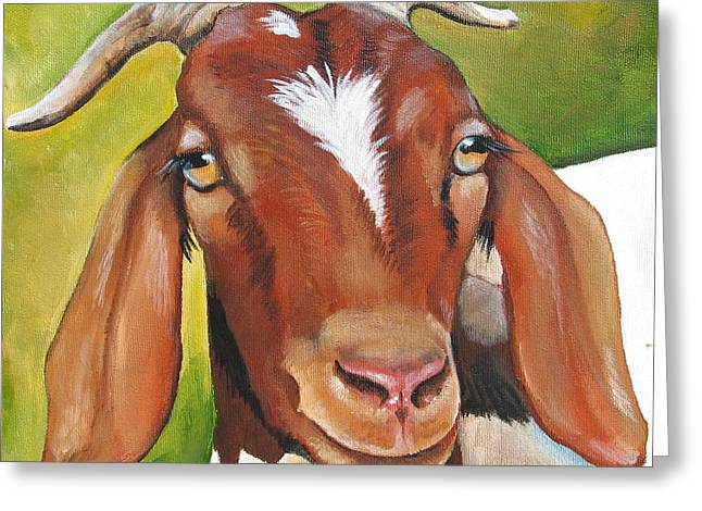 Heloise Greeting Card by Laura Carey
