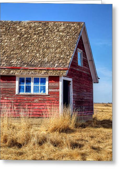 Hen House -1 Greeting Card by Nikolyn McDonald