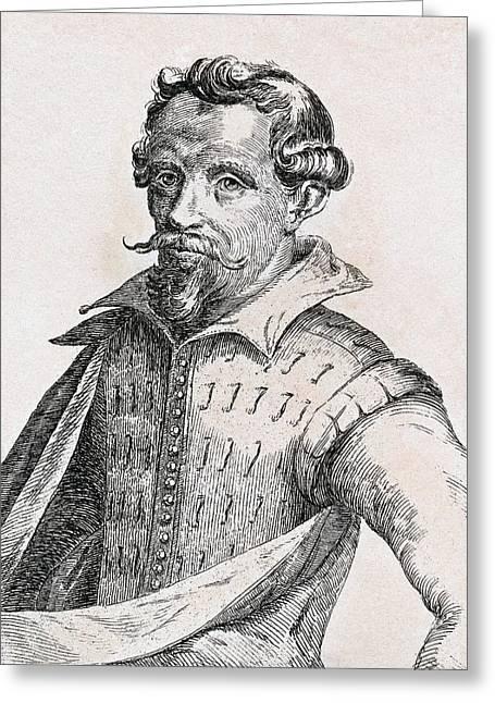 Vroom Greeting Cards - Hendrick Cornelisz Vroom 1566-1640 Greeting Card by Ken Welsh