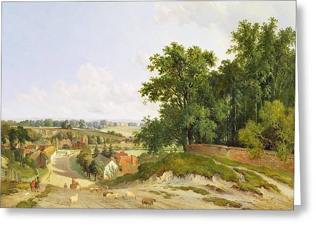 Country Lanes Greeting Cards - Henley on Thames Greeting Card by Arthur Gilbert