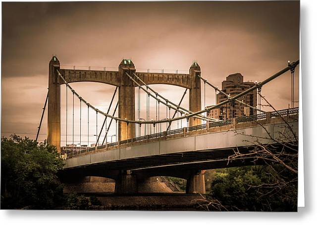 Hennepin Avenue Bridge Greeting Card by Art Spectrum