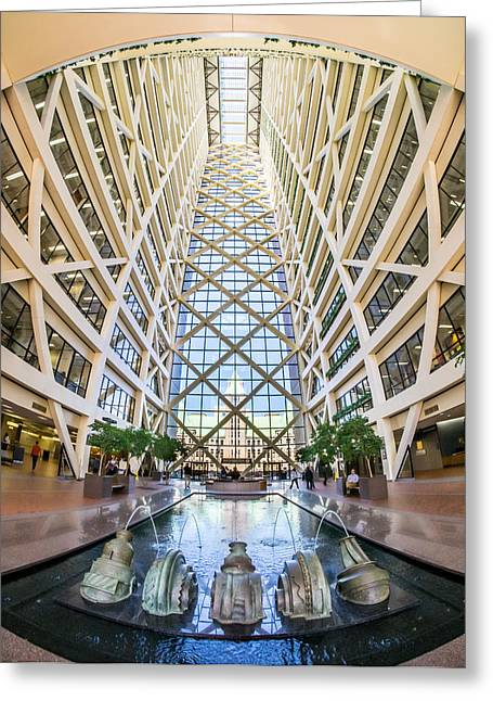 Hennepin County Government Center In Minneapolis Minnesota Greeting Card by Jim Hughes