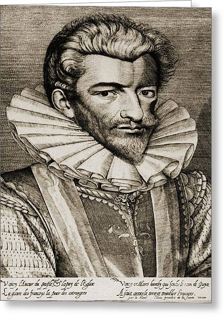 Guise Greeting Cards - Henri De Lorraine, Duc De Guise Greeting Card by Ken Welsh
